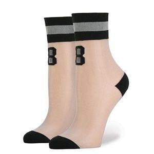 STANCE by RIHANNA 88 Anklet Grey Socks Size OS